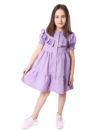 Летнее платье рубашка на девочку