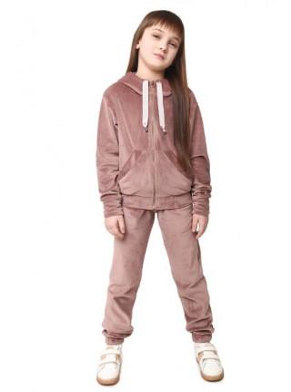Спортивний велюровий костюм на дівчинку теплий