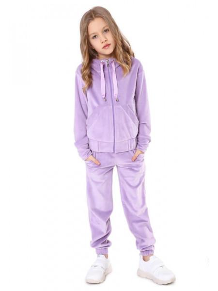 Велюровий костюм для дівчинки