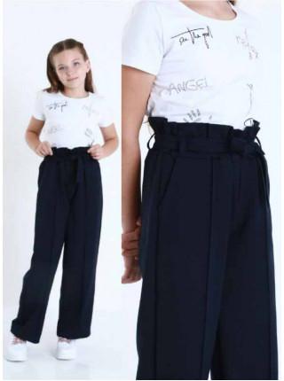 Широкі штани шкільні на дівчинку