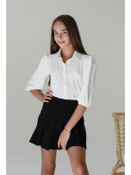 Блузка школьная подростковая