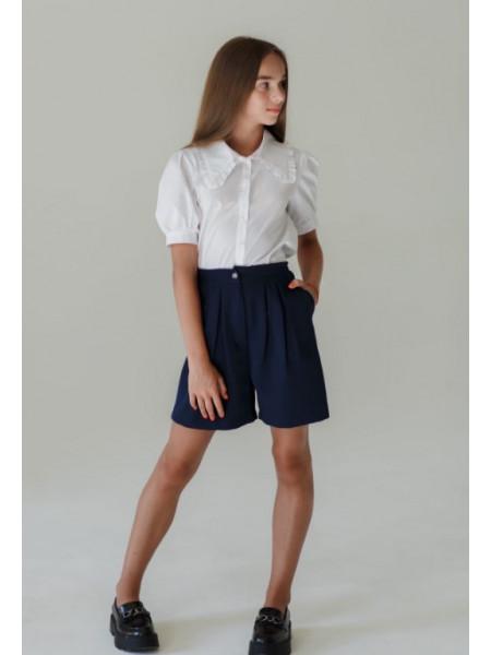 Школьные шорты на девочку