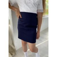 Прямая школьная юбка