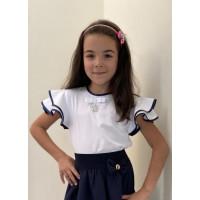 Блузка шкільна нарядна