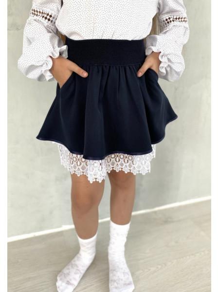 Школьная юбка на первое сентября