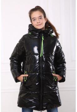 Куртка пуховик на девочку ЛАК