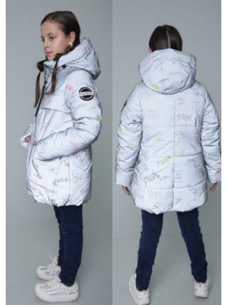 Курточка на девочку зима