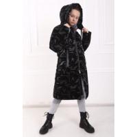 Зимове пальто пуховик на дівчинку