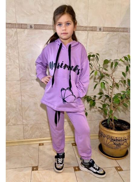 Красивий трикотажний спортивний костюм на дівчинку