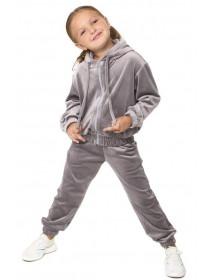 Детский велюровый костюм на девочку
