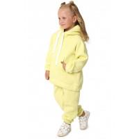 Теплый спортивный костюм с начесом на девочку