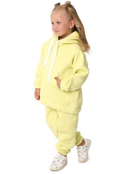 Теплий спортивний костюм з начосом на дівчинку