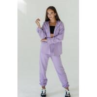 Модный спортивный костюм с джоггерами на девочку