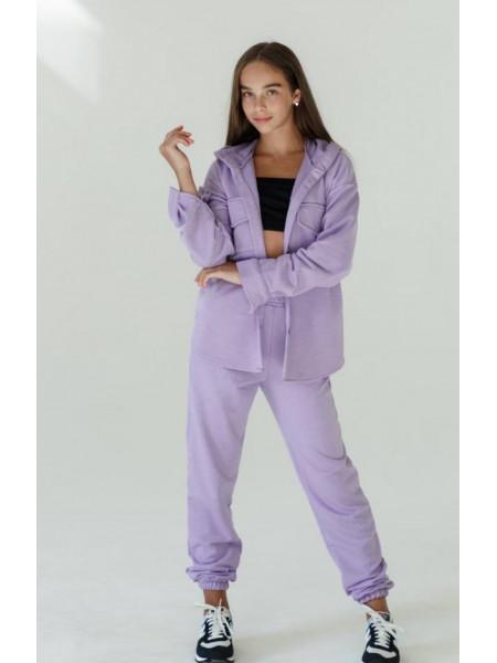 Модний спортивний костюм з джоггерами на дівчинку