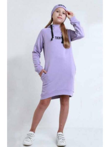 Платье худи на девочку