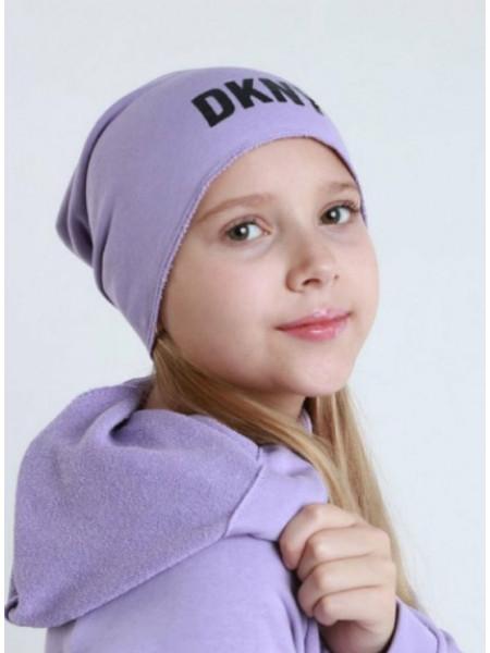 Трикотажная шапка для девочки