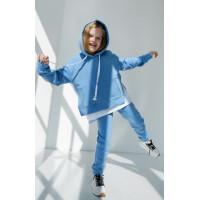 Теплий спортивний костюм на флісі на дівчинку