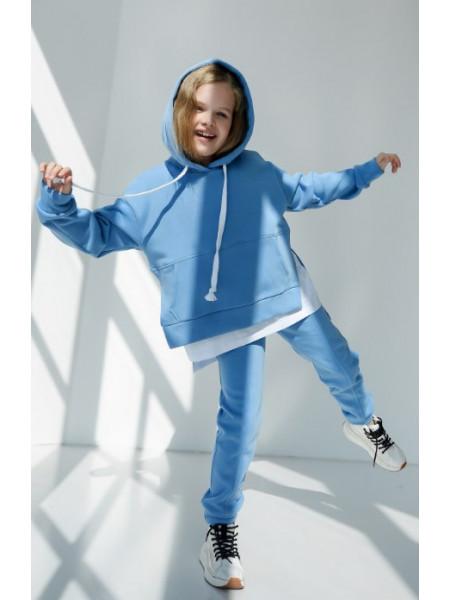 Теплый спортивный костюм на флисе на девочку