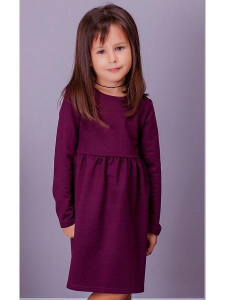 Детское трикотажное платье для девочки