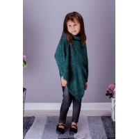 Детский костюм туника с лосинами для девочки